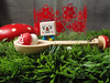 ...magique... (astel83) Tags: cute mushroom kitchen rouge tofu spoon champignon decole decolello