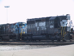 NS SD40-2 No. 3204