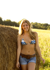 Alexandra Leigh (Myrna Jacobs) Tags: michigan country haystack bellaire farmgirl northernmichigan alexwilson alexandraleigh myvonne myrnajacobs wrightfarm