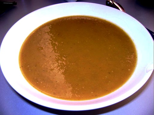 Amber Vegetable and Lentil soup