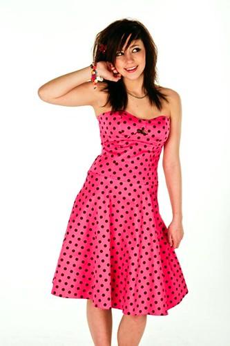 Barbietch: Polkadot Dress
