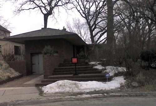 Frank Lloyd Wright Designed House in Prospect Park, Minneapolis