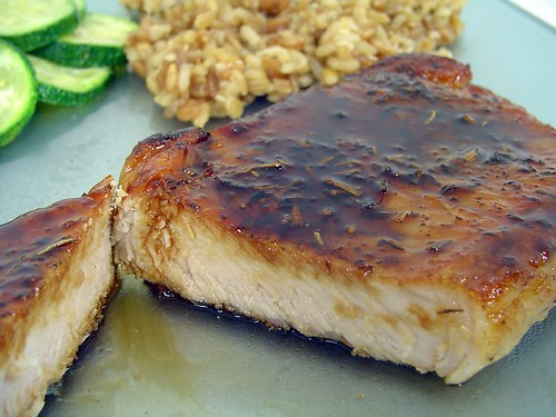 balsamic glazed pork chops glazed pork chop balsamic glazed pork chops ...