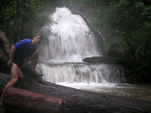 Me with Upper Golden Cascade