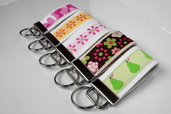 Mini Key fobs (dlane71) Tags: keyfobs cutegifts ribbonkeyfobs minikeyfobs