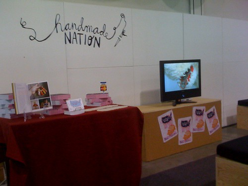Handmade Nation at Pool Tradeshow!