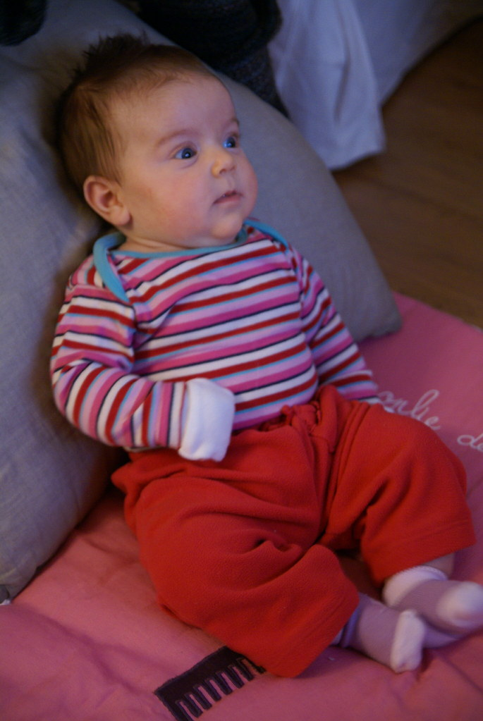 olivia watches baby einstein