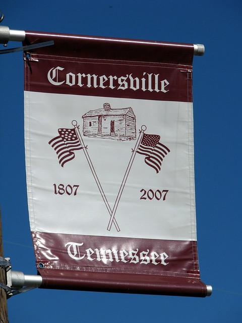 Cornersville, TN town banner