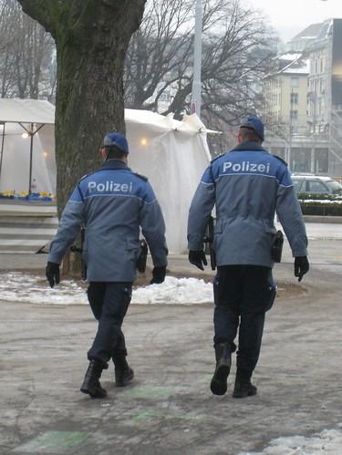 Market Police, Zürich, Switzerland