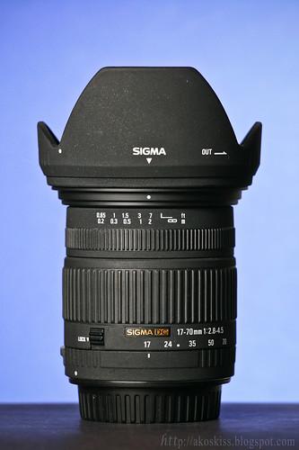 Sigma 17-70 F2.8-4.5 DC MACRO