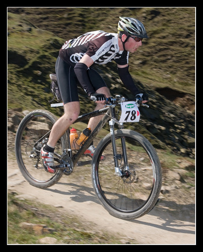me racing in an xc stylee