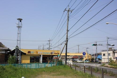 山田の火の見櫓