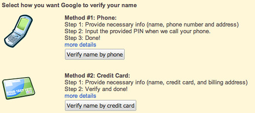 Verify Google Profile on Knol