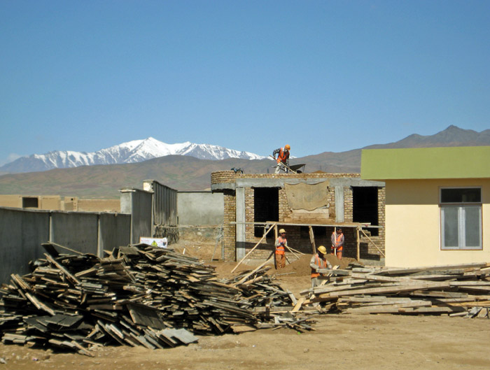 Girls School Construction