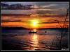 Cruzando el atardecer (Avril 07) Tags: rio ocaso canoa pescadores the4elements tff1 tff2