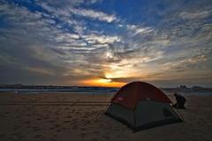 (664) mood in the evening (avalon20_(mac)) Tags: africa travel blue sky sahara nature geotagged sand desert egypt 500 misr eos40d schulzaktivreisen