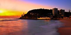 Burleigh Heads_752 (Michael Dawes) Tags: ocean camera longexposure beach sunrise landscape seascapes country australia queensland towns headland 61 goldcoast burleighheads longexposurephotography canon50d canon24105mmf4ismusm