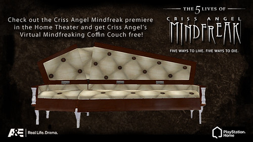 Criss Angel Mindfreak in Home