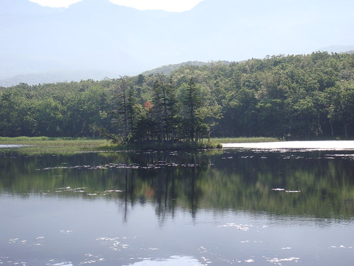 Second lake of Shiretoko-goko