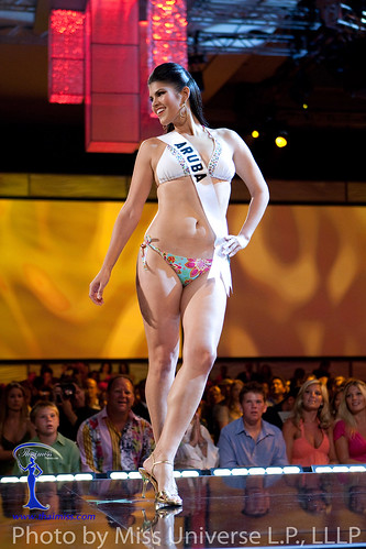 Miss Aruba 2009 Dianne Croes in BSC Swimwear