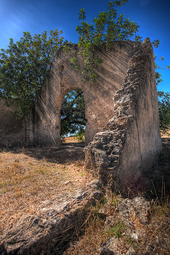 Old ruin at Montemor