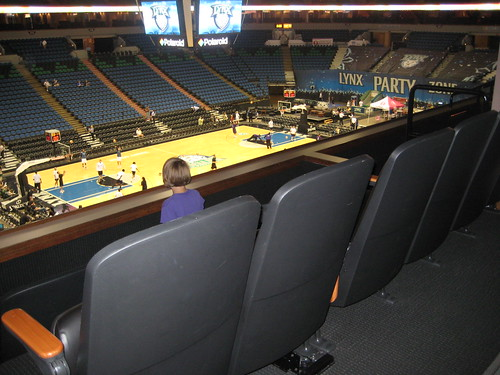 Lynx suite seating