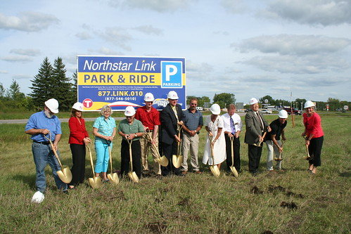 Park and Ride Lot Groundbreaking