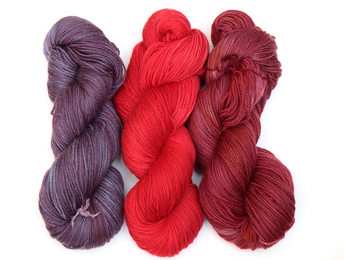 Kool Aid dyed yarn