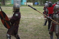 Whipping Winds 2009 896 (Beothuk) Tags: war mt sca battle shelby shire combat northern heavy 2009 armoured artemisia avacal hardsuit whippingwinds skirmishes windegate avaartacalamisia