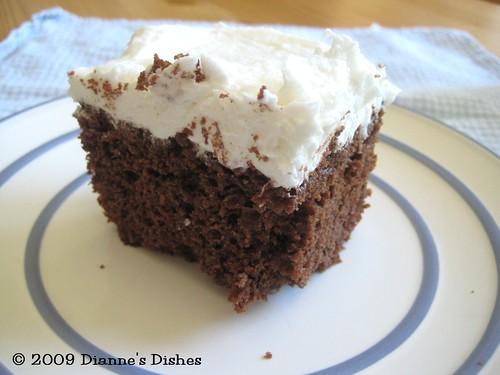 Chocolate Cake à la Alexis