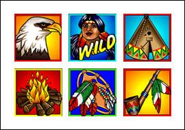 free Totem Treasure slot game symbols
