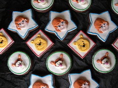 tigger, pooh and darby too! (The Whole Cake and Caboodle ( lisa )) Tags: newzealand cookies cookie disney darby pooh winniethepooh tigger whangarei fondant caboodle myfriendstiggerandpooh thewholecakeandcaboodle