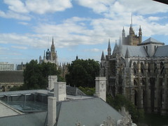 Westminster Abbey  - a view from the QEII conference centre