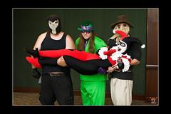 You guys're too kind. <3 (EnasniV) Tags: animefest batman bane harleyquinn theriddler thescarecrow