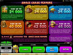 free The Great Galaxy Grab gamble bonus game