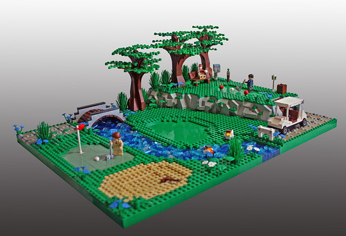 LEGO Eggy Pop golf course