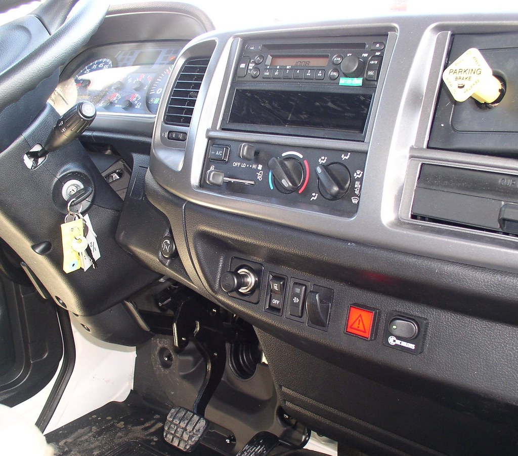 Hino 338 dash HTS Ultra Rack release switch
