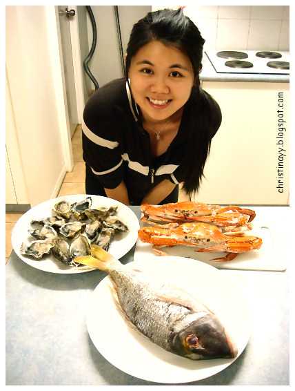 Home-Cooking: Seafood Dinner