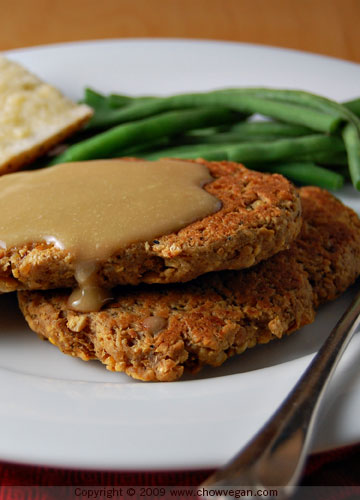 VeganMoFo: Chickpea Cutlets From Veganomicon