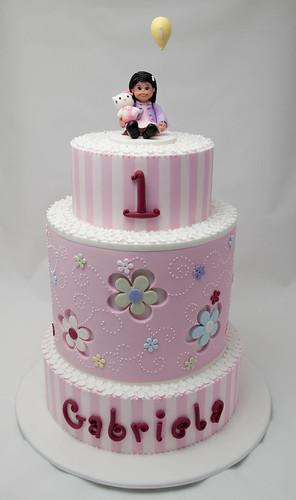 Gabriela's First Birthday Cake