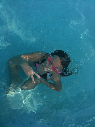 Alex Under Water