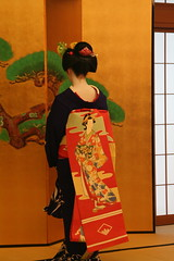 Maiko Performance (<oo-jel-lah>) Tags: vacation japan kyoto maiko geiko geisha