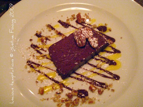 Valrhona Chocolate Terrine - St Germain, Farringdon