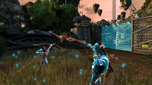 juego de Avatar arqueros