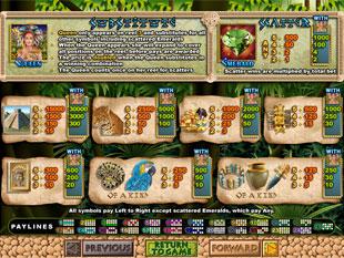 free Mayan Queen slot mini symbol