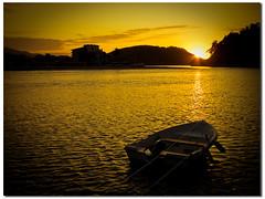"Ribadesella (""PABLO"" ) Tags: sunset sea sun sol backlight digital contraluz atardecer boat mar reflex barca raw pablo sigma asturias olympus amarillo puestadesol e3 lightroom ribadesella sigma1020"