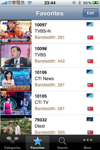 iPhone APP TVU