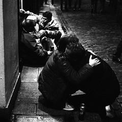 Homeless Love & Care (Anthony Cronin) Tags: ireland dublin texture 120 6x6 tlr film analog mediumformat homeless grain delta ishootfilm shelter ac apug grainisgood templebar ilford irlanda filmgrain dropouts ilforddelta3200 pushprocessed streetdrinking dubliners 500x500 dublinstreet outcasts ilforddelta dublinstreets dublinbynight microphen minoltaautocord allrightsreserved dublinlife streetsofdublin irishphotography lifeindublin ilfordmicrophen filmisnotdeaditjustsmellsfunny irishstreetphotography eldocumental 6x6magic y48filter winner500 dublinnightlife dublinstreetphotography streetphotographydublin anthonycronin fotografadelacalle pushedto12800 rokorlens livingindublin insidedublin livinginireland streetphotographyireland templebarquarter filmdev:recipe=5416 dublinhomeless callededubln photangoirl