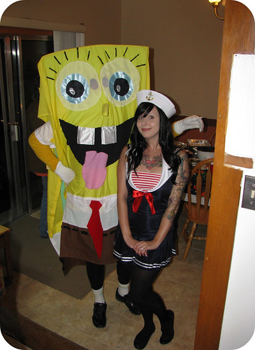 Spongebob and me