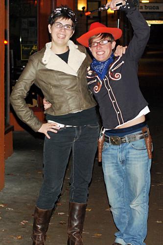 Amelia and Woody
